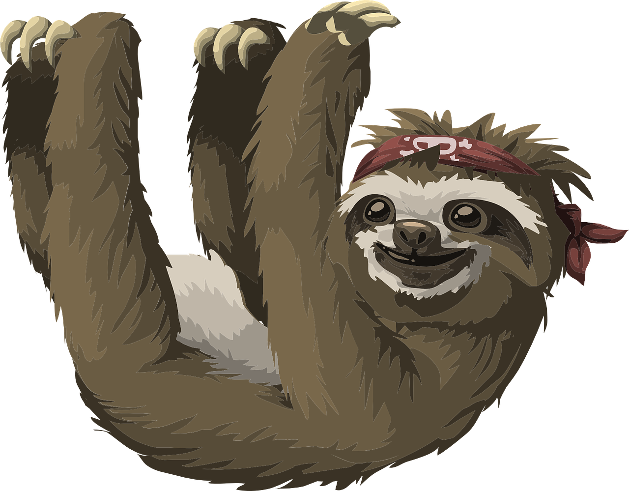 sloth names inspired by cartoons