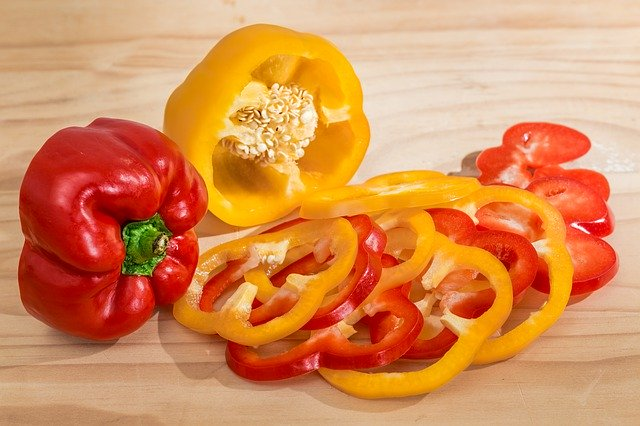 Are bell peppers healthy food for your chickens